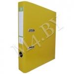 Регистратор А4 50мм ПВХ жёлтый