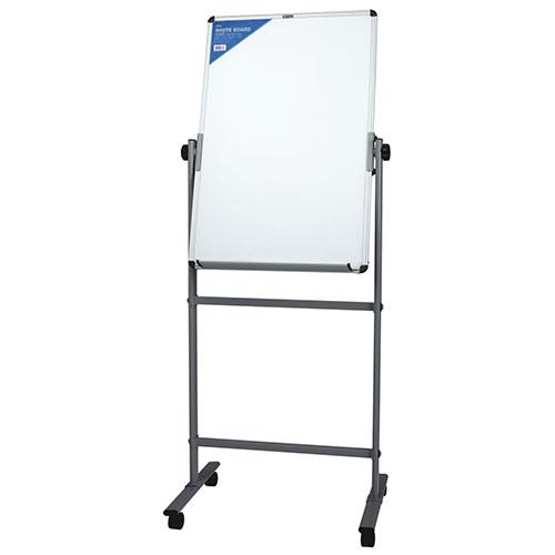 Доска 600*900мм белая офисная магнитная на стойке
