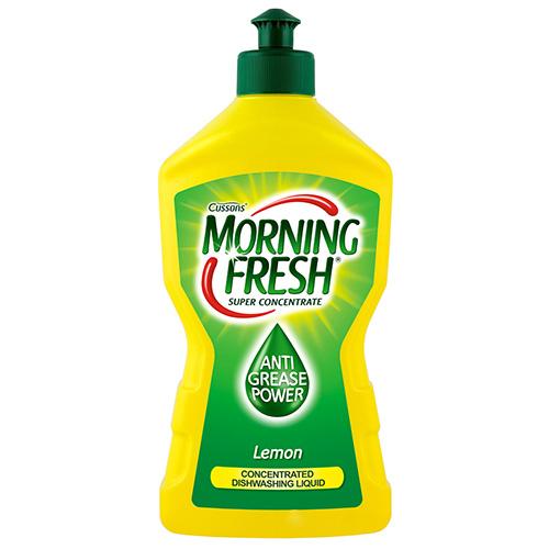 Жидкость для мытья посуды MORNING FRESH Lemon Суперконцентрат 450мл