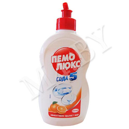 Средство для мытья посуды ПЕМОЛЮКС Цитрусовая свежесть 450мл