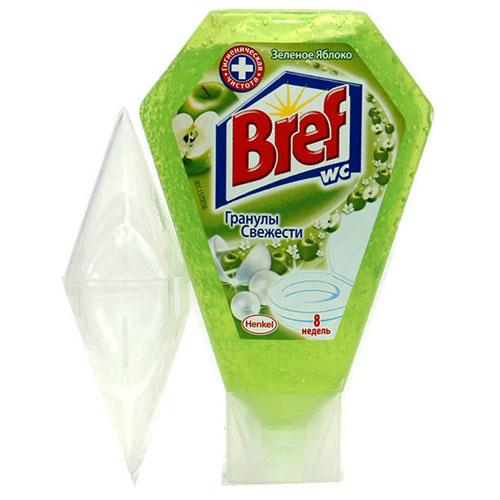 Освежитель для унитаза гель BREF Зеленое яблоко 200мл