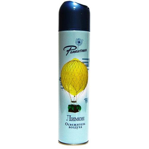 Освежитель воздуха РОМАНТИКА Лимон 300мл