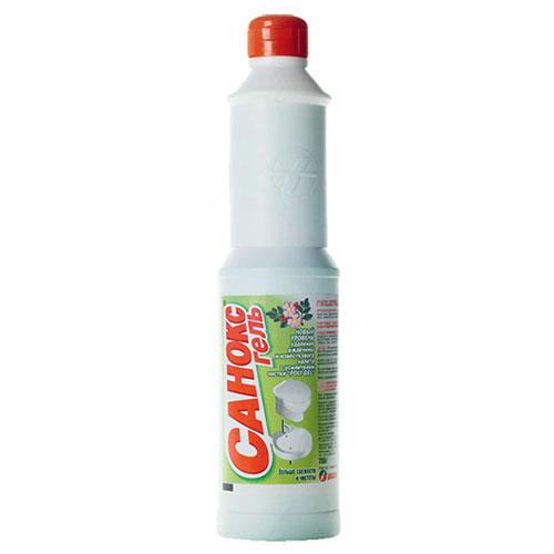 Средство чистящее для сантехники САНОКС-ГЕЛЬ 750г