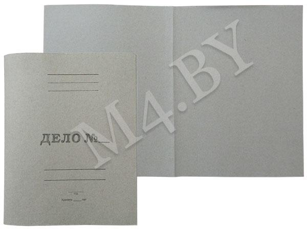Обложка 0,7мм картонная, ДЕЛО